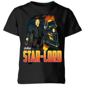 T-Shirt Enfant Star-Lord Avengers - Noir