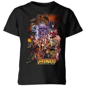 T-Shirt Enfant La Team Avengers - Noir