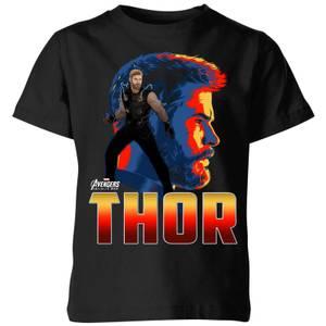 T-Shirt Enfant Thor Avengers - Noir