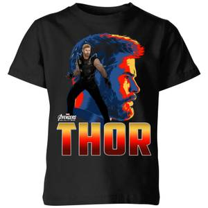 Avengers Thor Kids' T-Shirt - Black