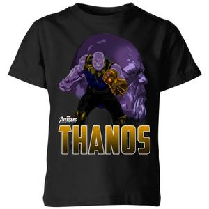 Avengers Thanos Kids' T-Shirt - Black