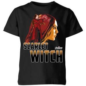 T-Shirt Enfant Scarlet Witch - Sorcière rouge Avengers - Noir