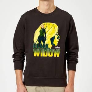 Avengers Black Widow Sweatshirt - Black