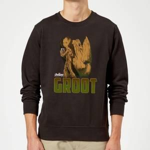 Avengers Groot Sweatshirt - Black