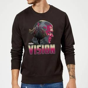 Sweat Homme Vision Avengers - Noir