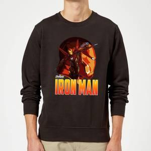 Sweat Homme Iron Man Avengers - Noir