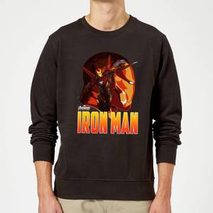 Avengers Iron Man Sweatshirt - Black