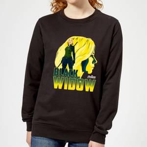 Avengers Black Widow Dames Trui - Zwart