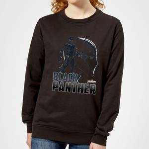 Avengers Black Panther Women's Sweatshirt - Black