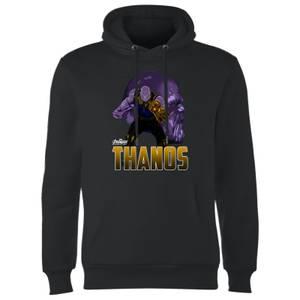 Sweat à Capuche Homme Thanos Avengers - Noir