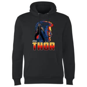 Felpa con cappuccio Avengers Thor - Nero