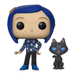 Coraline with Cat Buddy Funko Pop! Vinyl