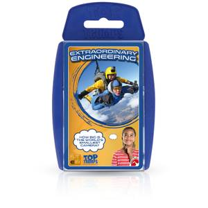 Top Trumps Card Game - STEM Extraordinary Engineering Edition