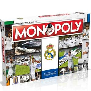 Monopoly Board Game - Real Madrid Edition