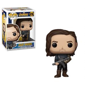 Figurine Pop! Bucky et Arme Infinity War Marvel