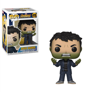 Marvel Infinity War Banner with Hulk Head Pop! Vinyl Figure