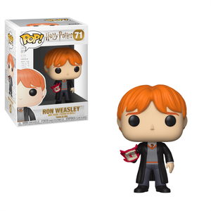 Figura Funko Pop! - Ron Con Carta Vociferadora - Harry Potter
