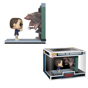 Stranger Things Eleven vs Demogorgon Funko Pop! Movie Moment