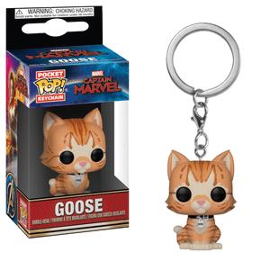 Marvel Captain Marvel Goose the Cat Funko Pop! Keychain