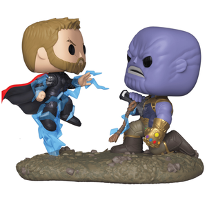 Marvel Thor gegen Thanos Pop! Movie Moment