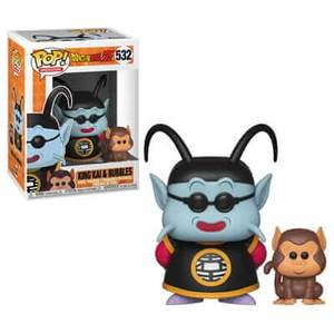 Figurine Pop! Kai & Bubbles Dragon Ball Z