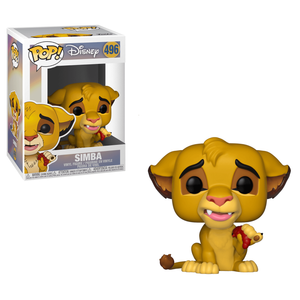 Figurine Pop! Simba - Le Roi Lion - Disney