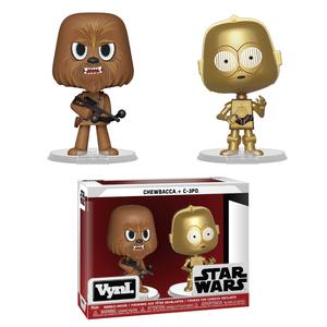 Chewbacca & C-3PO Funko Vynl.