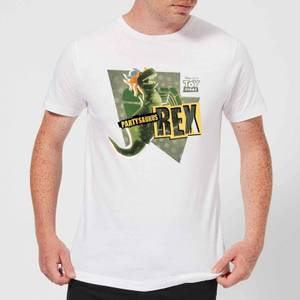 T-Shirt Homme Partysaurus Rex Toy Story - Blanc