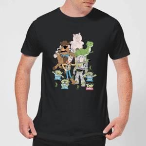 T-Shirt Homme Toute la Bande Toy Story - Noir