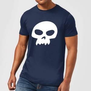 T-Shirt Homme Tête de Mort de Sid Toy Story - Bleu Marine