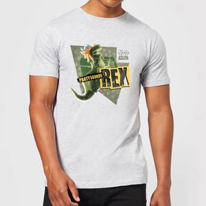 Toy Story Partysaurus Rex Men's T-Shirt - Grey