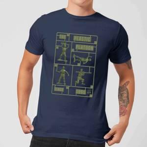 Toy Story Plastic Platoon Men's T-Shirt - Navy