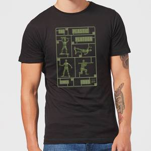 Toy Story Plastic Platoon Men's T-Shirt - Black