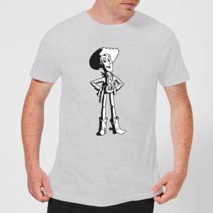 Toy Story Sheriff Woody Men's T-Shirt - Grey