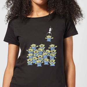 Toy Story The Claw Women's T-Shirt - Black