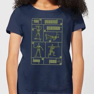T-Shirt Femme Soldats en Plastique Toy Story - Bleu Marine