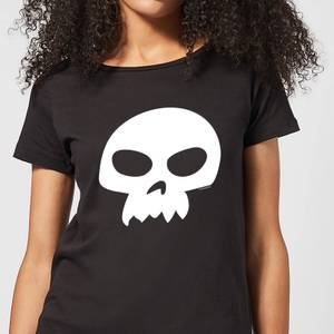 T-Shirt Femme Tête de Mort de Sid Toy Story - Noir