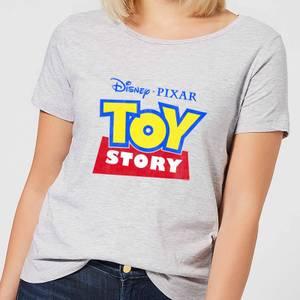 Toy Story Logo Women's T-Shirt - Grey