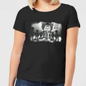 T-Shirt Femme Bayonne le Méchant Toy Story - Noir