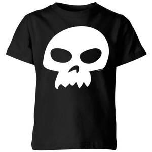 T-Shirt Enfant Tête de Mort de Sid Toy Story - Noir
