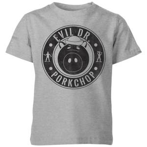 Toy Story Evil Dr Porkchop Kids' T-Shirt - Grey
