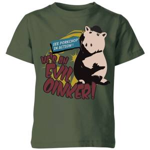 Toy Story Evil Oinker Kids' T-Shirt - Forest Green