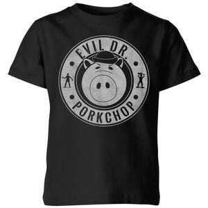 Toy Story Dr Porkchop Kids' T-Shirt - Black