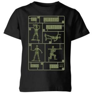Toy Story Plastic Platoon Kids' T-Shirt - Black