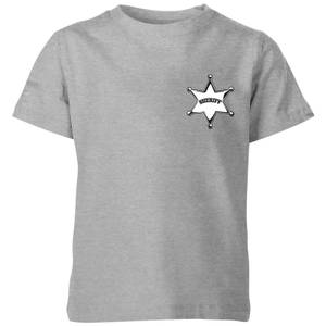 T-Shirt Enfant Sheriff Toy Story - Gris