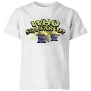 T-Shirt Enfant Extraterrestre Toy Story - Blanc