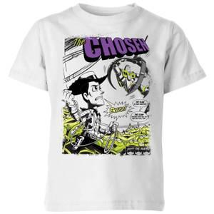 T-Shirt Enfant Couverture de Comic Toy Story - Blanc
