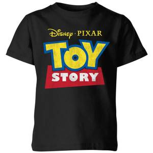 Toy Story Logo Kids' T-Shirt - Black