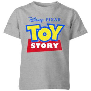 Toy Story Logo Kids' T-Shirt - Grey