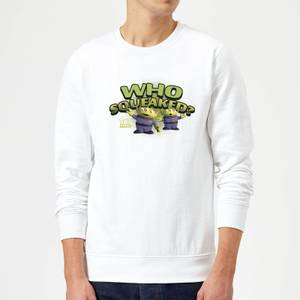 Toy Story Who Squeaked Sweatshirt - White